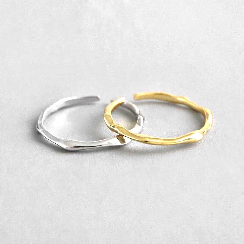 Minimalist Statement Ring