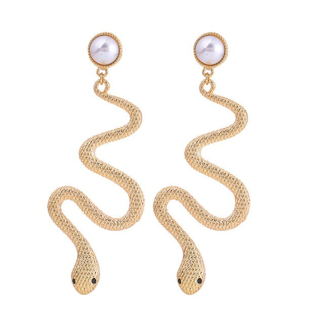 Cobra Snake Earrings