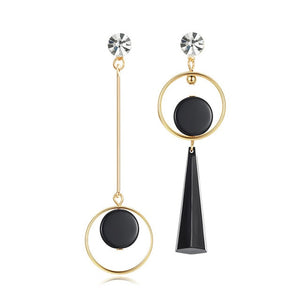Korean Statement Drop Earrings