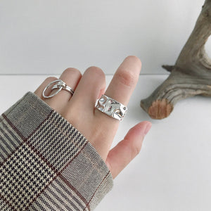 Bohemian Ethnic Sterling Ring