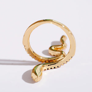 Mujer Stackable Snake Ring