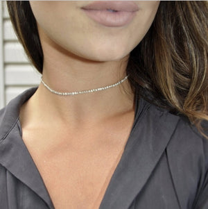 Simple Pearl Bead Choker