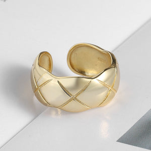 Rhombic Pattern Ring