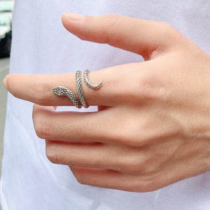 Punk Spirit Snake Ring