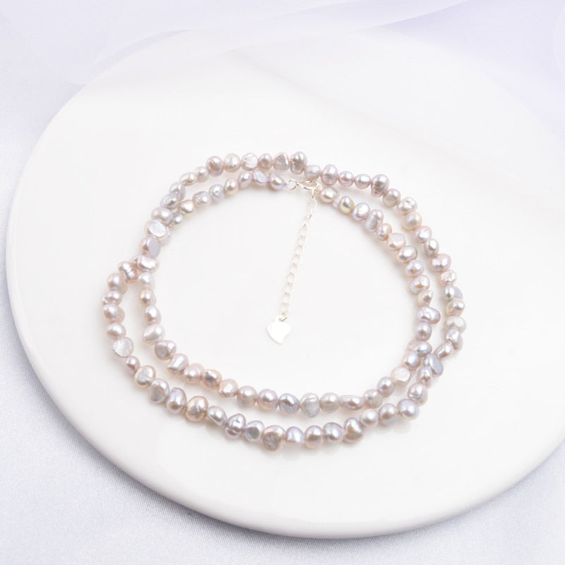 Natural Freshwater Pearl Necklace
