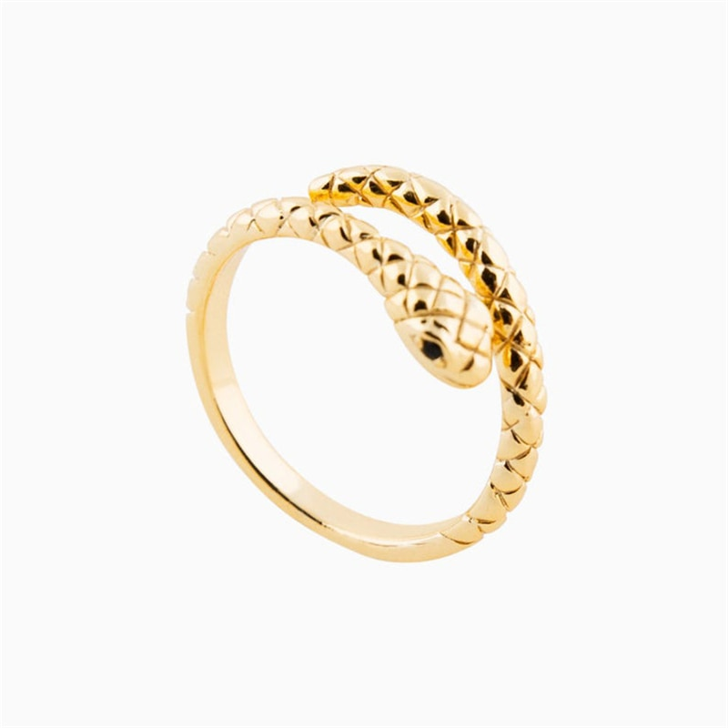 CANner Serpent Snake Ring