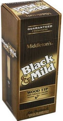 BLACK & MILD ORIGINAL WOOD TIP 25CT