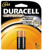 DURACELL AAA 2PK - 12 CARDS -24  BATTERIES
