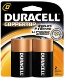 Duracell Alkaline D 2PK - 6CT -12 BATTERIES