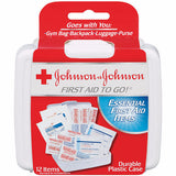 JOHNSON AND JOHNSON FIRST AID KIT TO GO