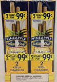 WHITE OWL PINEAPPLE 2/99¢