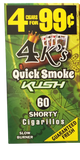 4 KINGS QUICK SMOKE KUSH 4/99¢
