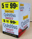 GOOD TIMES QUICKIES SWEET  5/99¢