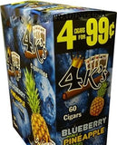 4 KINGS BB PINEAPPLE 4/99¢