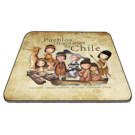 Mousepad pueblos originarios de Chile