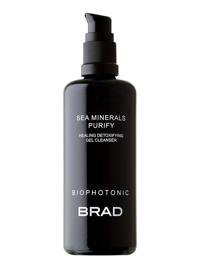 SEA MINERALS PURIFY HEALING DETOXIFYING GEL CLEANSER - BRAD BIOPHOTONIC skin care