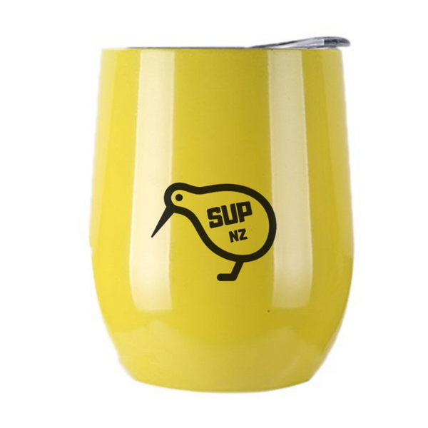 12oz SUP NZ Cup - Canary Yellow