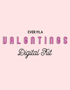 Valentines Digital Kit