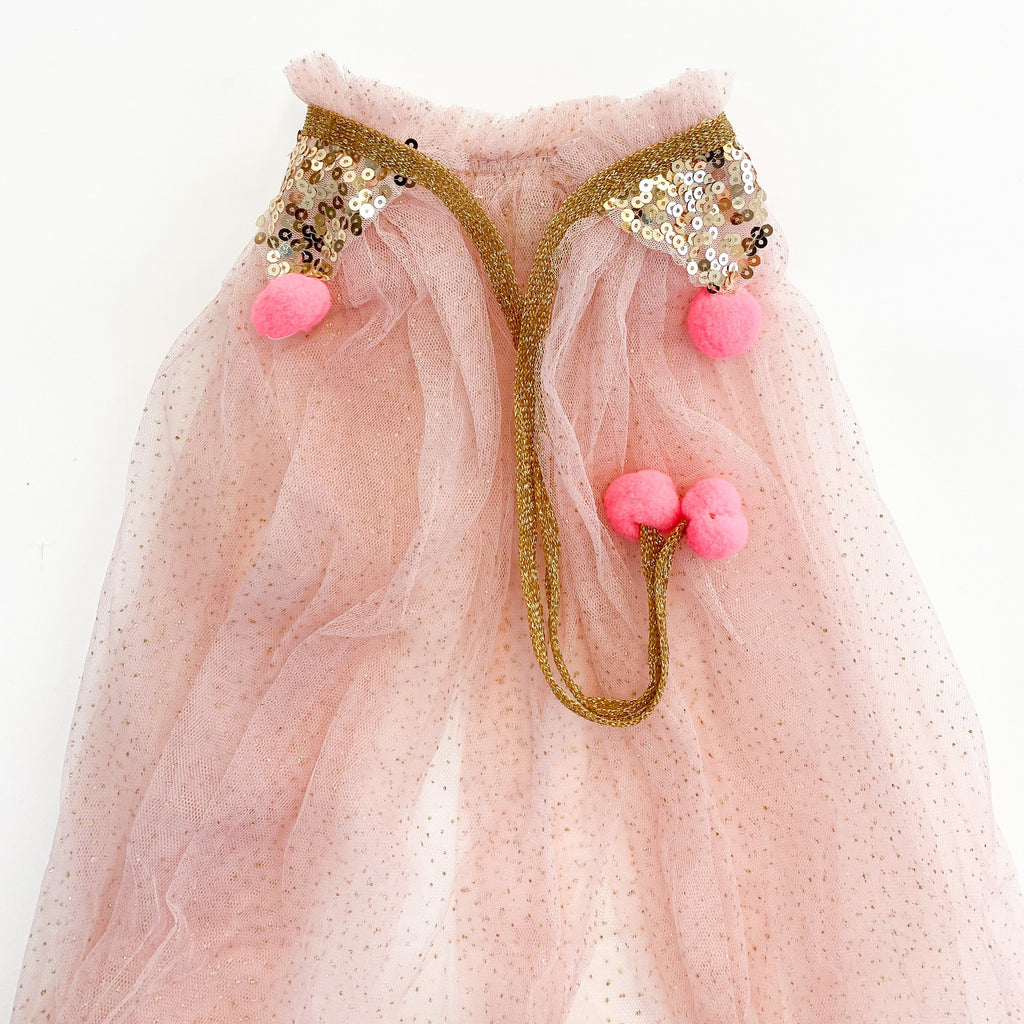 PRETTY IN PINK CAPE