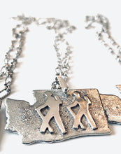 Load image into Gallery viewer, Washington Hikers Necklace