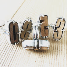 Load image into Gallery viewer, Vintage Letter Press Ring #5