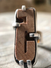 Load image into Gallery viewer, Vintage Letter Press Ring #3