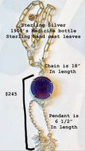Load image into Gallery viewer, Medicine Bottle Necklace #1