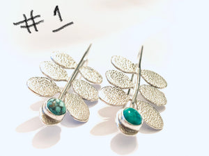 Leaf Earrings #1