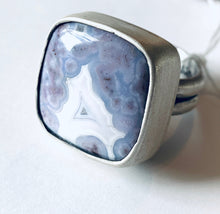 Load image into Gallery viewer, Lunar Blue Ring #3