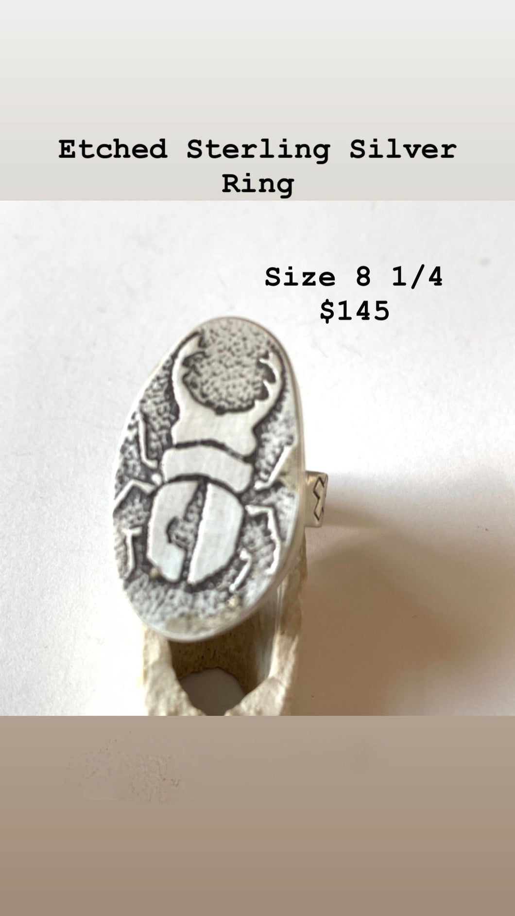 Beetle Ring #3