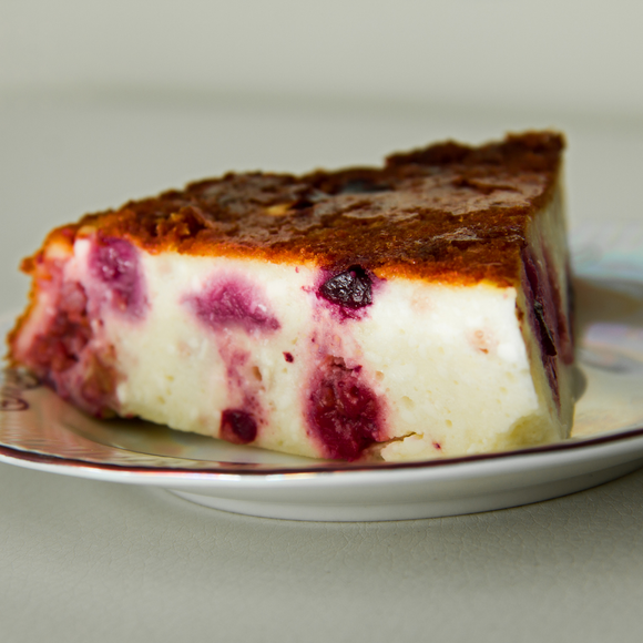 Cottage Cheese Casserole with Cranberries - 1 portion
