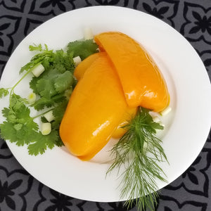 Bell Peppers Marinated in Honey with Herbs - 16 oz