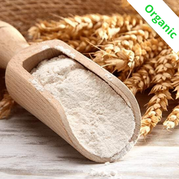 Premium Organic All-Purpose Unbleached Wheat Flour (Bulk) - 1 Kg
