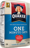'Quaker' One Minute Oats - 900 grams