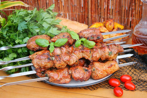 Marinated Shashlik Kebab (Pork and Oranges) - 1 Lb