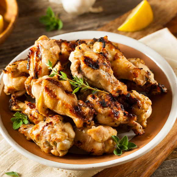 'Grilled Lemon' Chicken Wings - 1 Lb