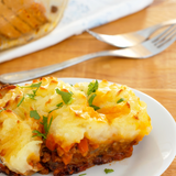 Yukon Gold Potato Shepherd's Pie (Vegetarian)