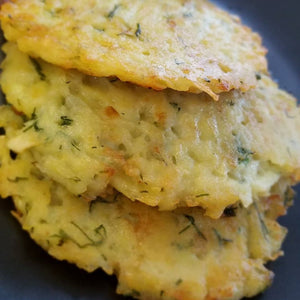 White Potato Hash browns with Dill (Potato Pancakes) - 8 pcs