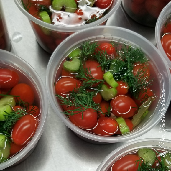 Pickled Cherry Tomatoes - 16 oz