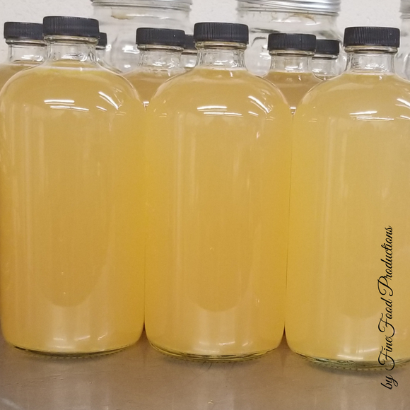 Unpasteurized Pear, Ginger and Honey Live Kombucha