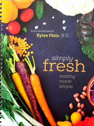 Wholesale: Simply Fresh Cookbook (18/box)