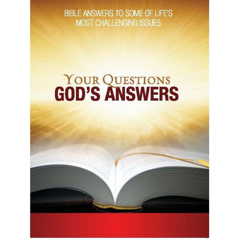 Wholesale: Your Questions, God's Answers (58/box)