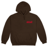 Cactus Jack Entertainment Hoodie Brown