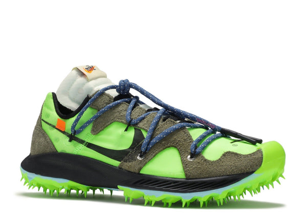 Nike Zoom Terra Kiger 5 OFF-WHITE Electric Green - CookiesandKicksLA