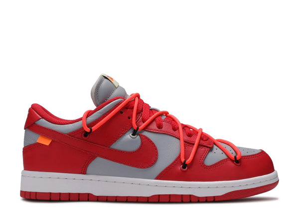 Nike Dunk Low Off-White University Red - CookiesandKicksLA