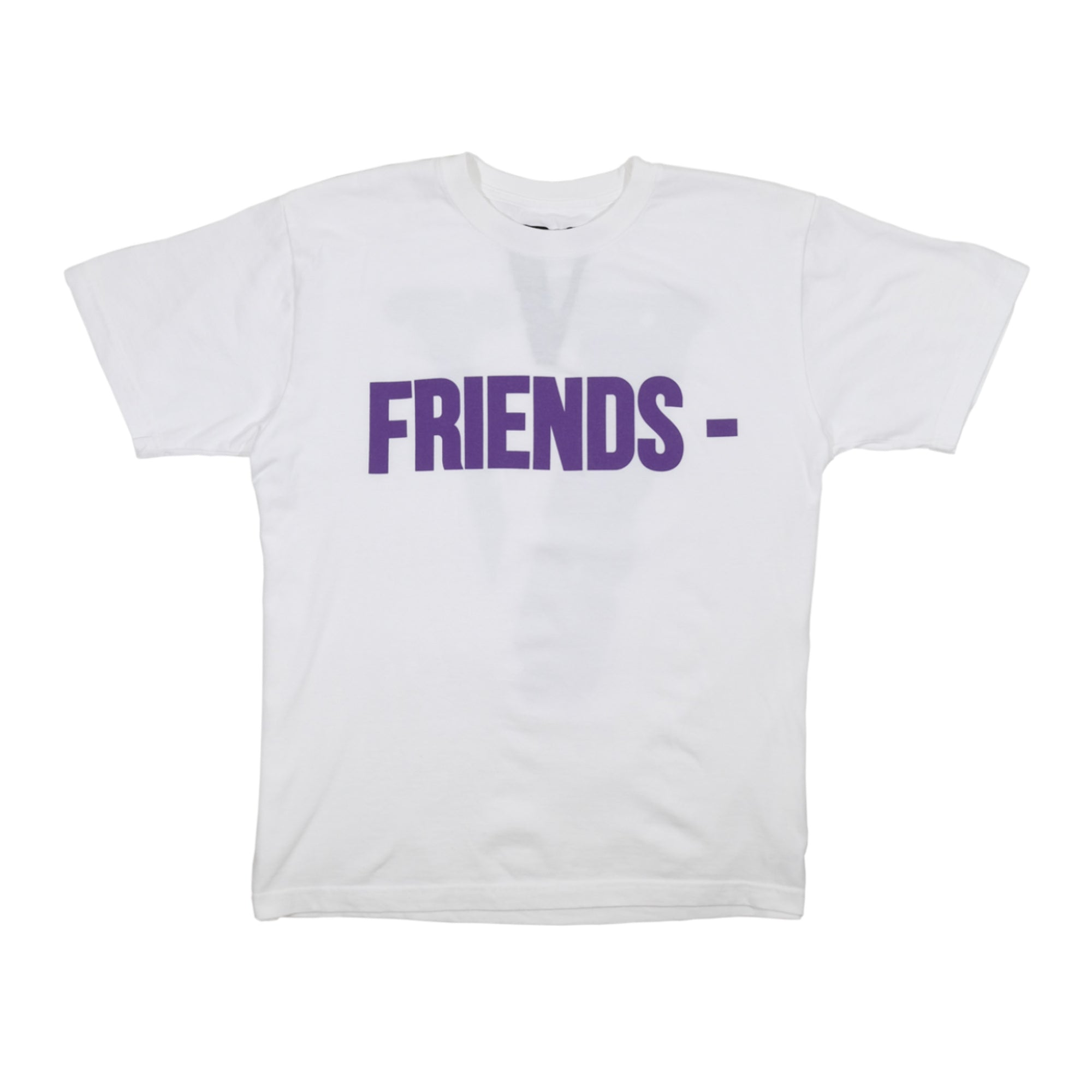Vlone Friends Tee White/Purple