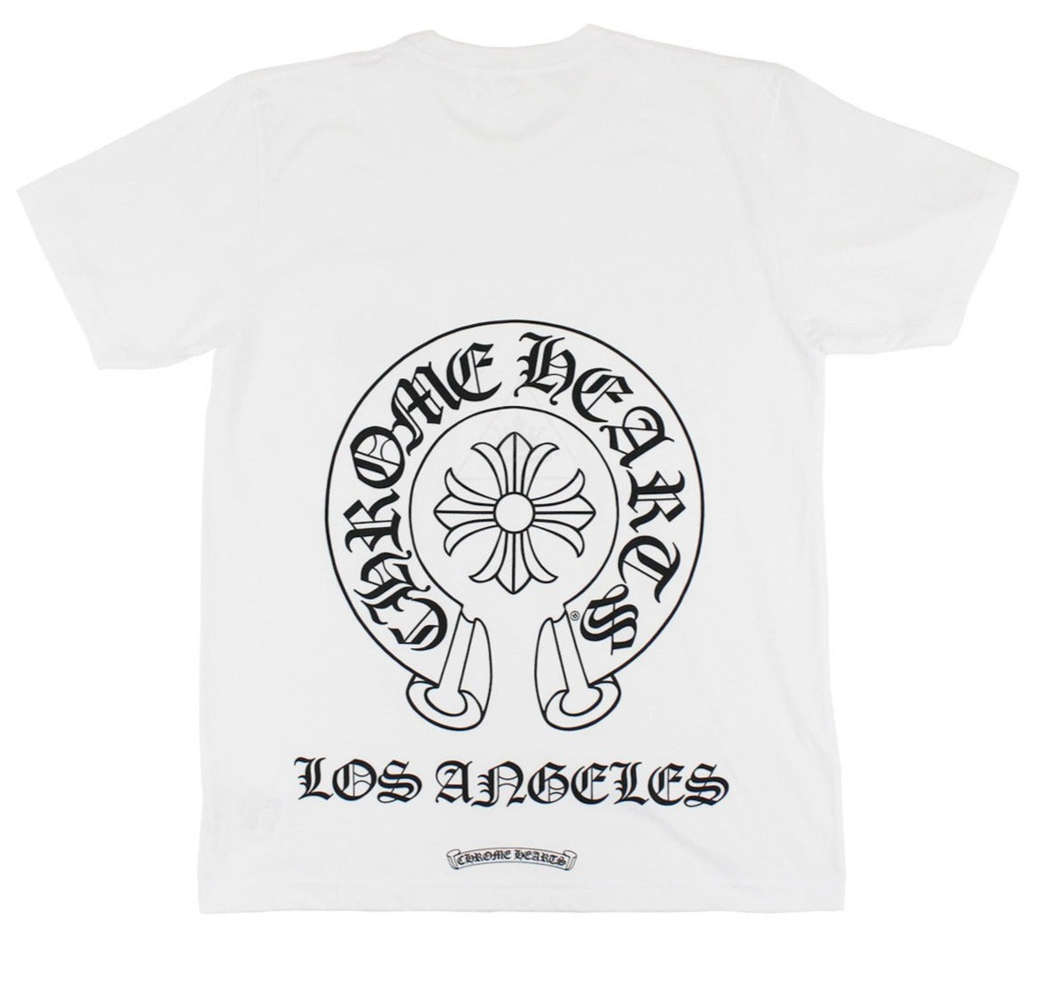 Chrome Hearts Horseshoe LA Tee White