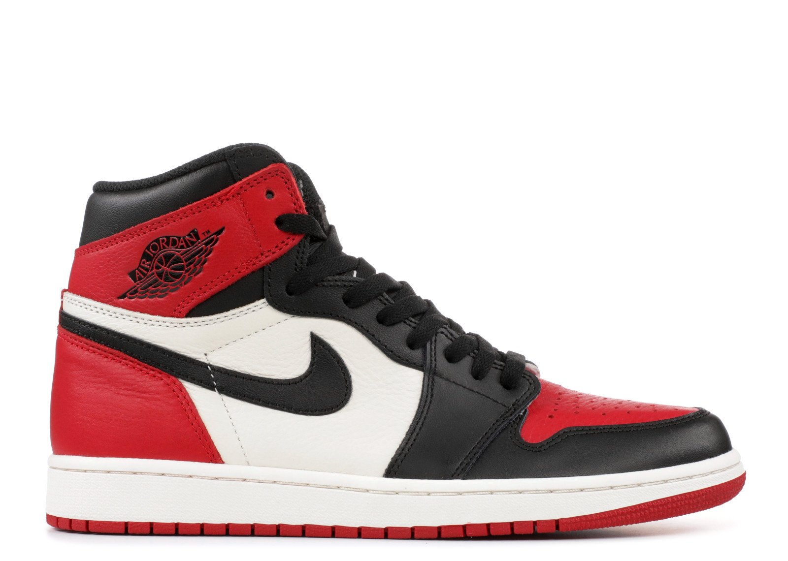 Jordan 1 Retro High Bred Toe - CookiesandKicksLA