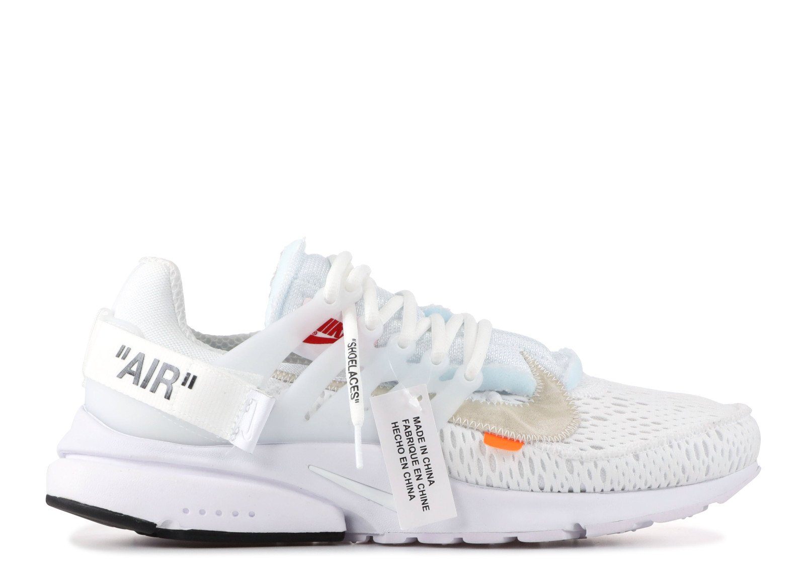 Air Presto Off-White White (2018) - CookiesandKicksLA