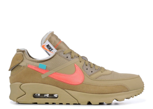 Air Max 90 OFF-WHITE Desert Ore - CookiesandKicksLA
